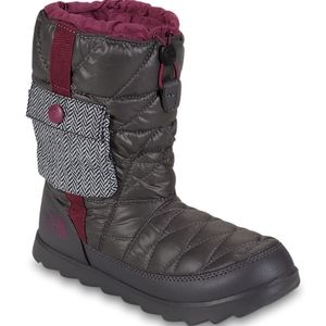 The North Face Thermoball Bootie Boots Grey 6